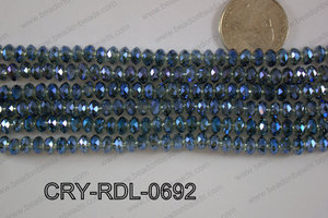 Crystal Rondel 6mm CRY-RDL-0692