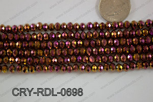Crystal Rondel 6mm CRY-RDL-0698