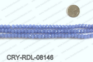 Angelic rondel crystals 8mm CRY-RDL-08146