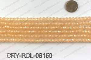 Angelic rondel crystals 8mm CRY-RDL-08150