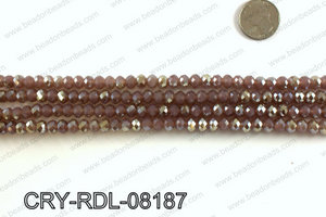 Angelic rondel crystals 8mm CRY-RDL-08187