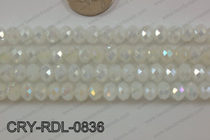Angelic Crystals Rondel 8mm CRY-RDL-0836