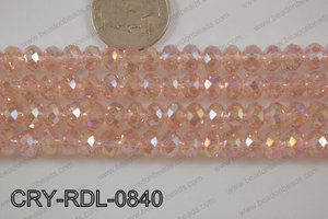Angelic Crystals Rondel 8mm CRY-RDL-0840