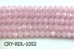 Angelic Crystal Faceted Rondel 10mm 10'' CRY-RDL-1052