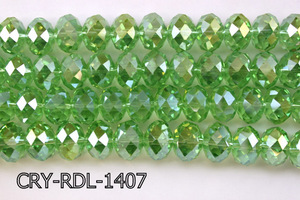 Angelic Crystal Faceted Rondel 14mm CRY-RDL-1407
