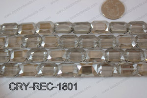 Angelic Crystal Rectangle Faceted 13x18mm CRY-REC-1801