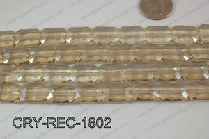 Angelic Crystal Rectangle Faceted 13x18mm CRY-REC-1802