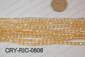 Angelic Crystals Rice 6mm CRY-RIC-0606