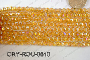 Angelic Crystal Round 6mm CRY-ROU-0610