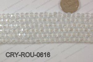 Angelic Crystal Round Faceted 6mm CRY-ROU-0616