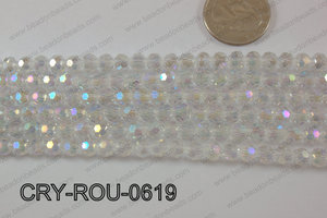Angelic Crystal Round Faceted 6mm CRY-ROU-0619
