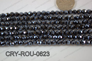 Angelic Crystal Round Faceted 6mm CRY-ROU-0623