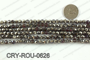 Angelic crystal round 6mmCRY-ROU-0626