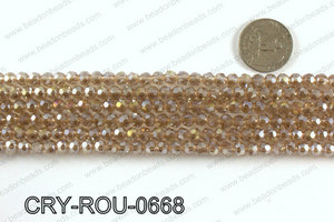 Angelic crystal round 6mmCRY-ROU-0668