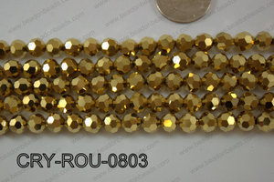 Angelic Crystal Round Faceted 8mm CRY-ROU-0803