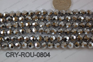 Angelic Crystal Round Faceted 8mm CRY-ROU-0804