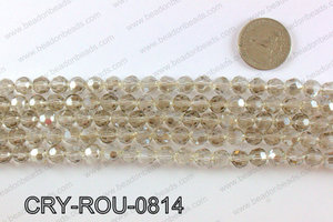 Angelic crystal round 8mmCRY-ROU-0814