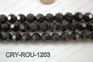Angelic Crystal Round Faceted 32cut 12mm CRY-ROU-1203
