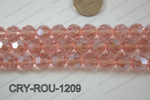 Angelic Crystal Round Faceted 32cut 12mm CRY-ROU-1209