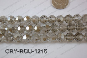 Angelic Crystal Round Faceted 32cut 12mm CRY-ROU-1215