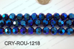 Angelic Crystal Round Faceted 32cut 12mm CRY-ROU-1218