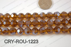 Angelic Crystal Round Faceted 32cut 12mm CRY-ROU-1223