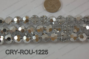Angelic Crystal Round Faceted 32cut 12mm CRY-ROU-1225