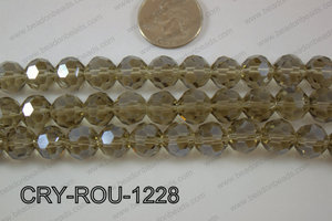Angelic Crystal Round Faceted 32cut 12mm CRY-ROU-1228