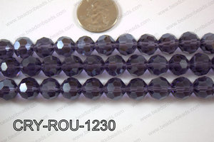 Angelic Crystal Round Faceted 32cut 12mm CRY-ROU-1230