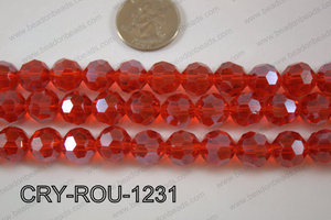 Angelic Crystal Round Faceted 32cut 12mm CRY-ROU-1231