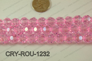 Angelic Crystal Round Faceted 32cut 12mm CRY-ROU-1232