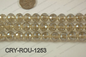 Angelic Crystal Round Faceted 96cut 12mm CRY-ROU-1253