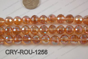 Angelic Crystal Round Faceted 96cut 12mm CRY-ROU-1256