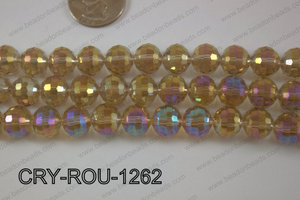 Angelic Crystal Round Faceted 96cut 12mm CRY-ROU-1262