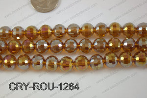 Angelic Crystal Round Faceted 96cut 12mm CRY-ROU-1264