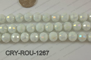 Angelic Crystal Round Faceted 96cut 12mm CRY-ROU-1267