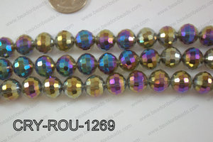 Angelic Crystal Round Faceted 96cut 12mm CRY-ROU-1269
