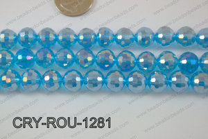 Angelic Crystal Round Faceted 96cut 12mm CRY-ROU-1281