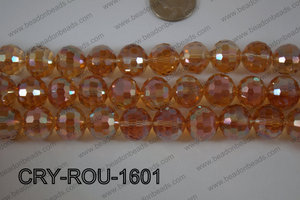 Angelic Crystal Round Faceted 15mm CRY-ROU-1601