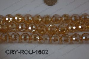 Angelic Crystal Round Faceted 15mm CRY-ROU-1602