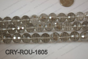 Angelic Crystal Round Faceted 15mm CRY-ROU-1605