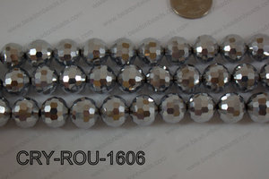 Angelic Crystal Round Faceted 15mm CRY-ROU-1606