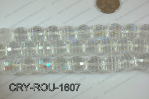 Angelic Crystal Round Faceted 15mm CRY-ROU-1607