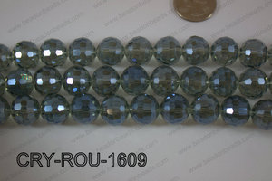 Angelic Crystal Round Faceted 15mm CRY-ROU-1609