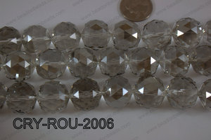 Angelic Crystal Round Faceted 20mm CRY-ROU-2006