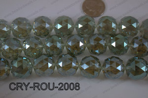 Angelic Crystal Round Faceted 20mm CRY-ROU-2008