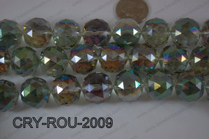 Angelic Crystal Round Faceted 20mm CRY-ROU-2009