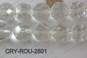 Angelic Crystals Round 32 cut 25mm CRY-ROU-2501