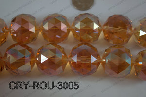 Angelic Crystal Round Faceted 30mm CRY-ROU-3005