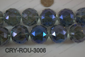 Angelic Crystal Round Faceted 30mm CRY-ROU-3006